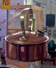Copper Kettle, Papatoetoe Museum display